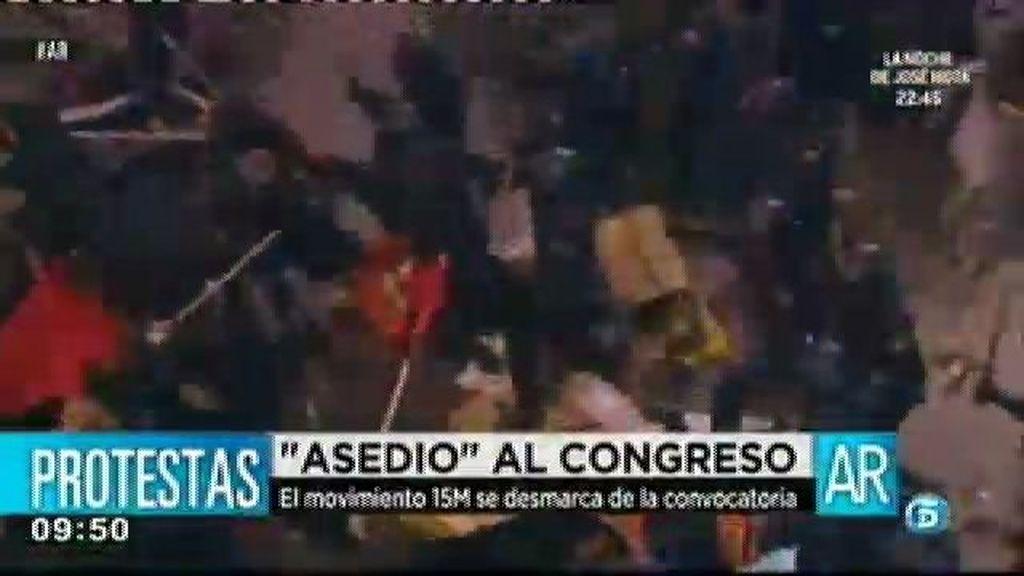 1.400 policías intentarán evitar el asedio al Congreso