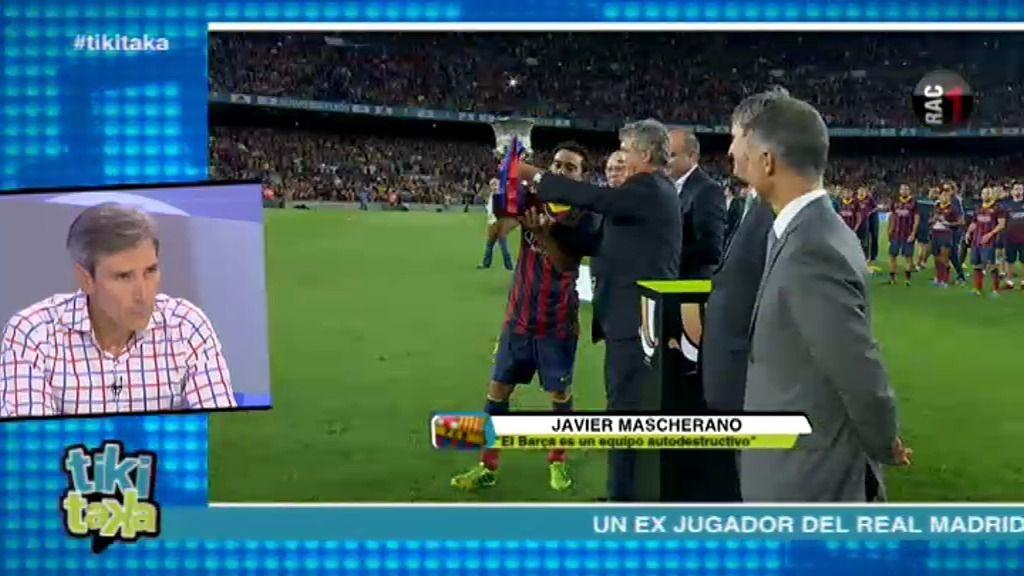 "Lobo Carrasco: ""Llevo muchas temporadas sin oir al Camp Nou silbar al Barcelona"""