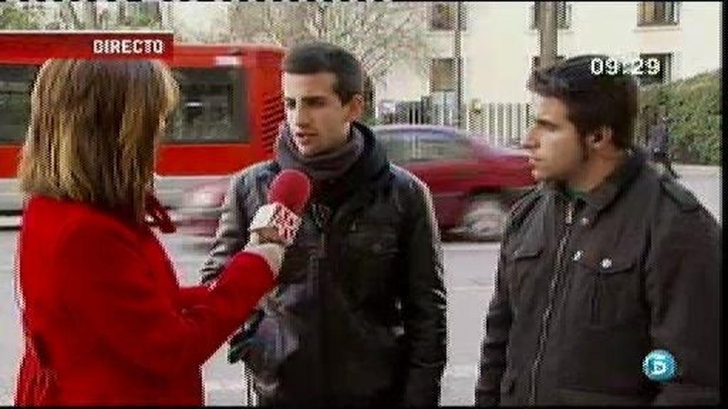 Los estudiantes confirman que hubo disparos de pelotas de goma en Valencia