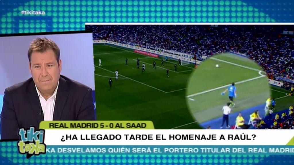 ¿Encendió Ancelotti al Bernabéu mandando calentar a Diego López?