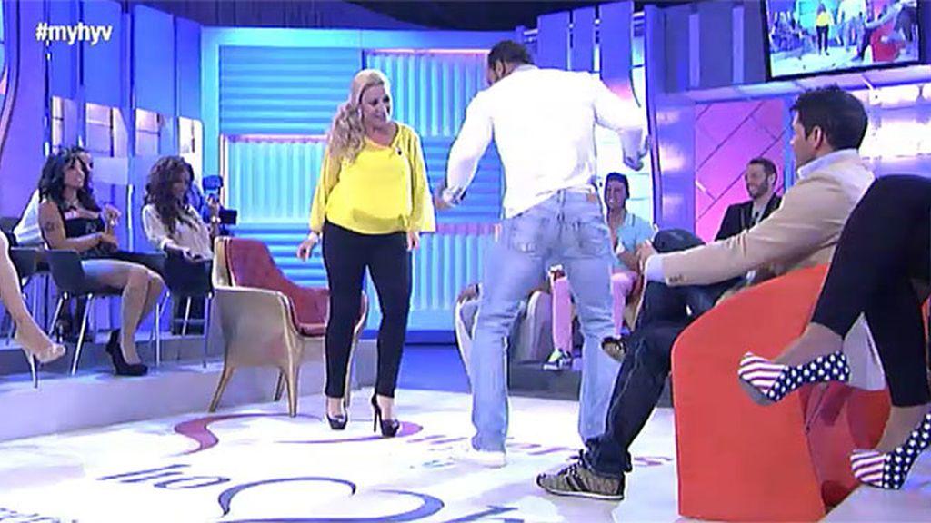 Raquel y Víctor Manuel… ¡Mambo!