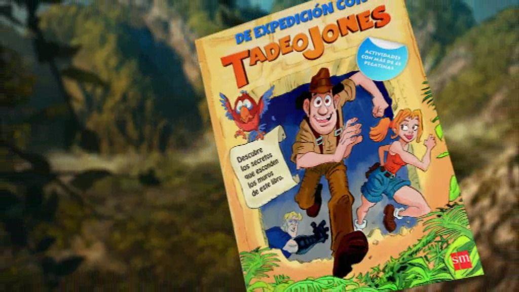 Ya a la venta el libro de actividades de Tadeo Jones