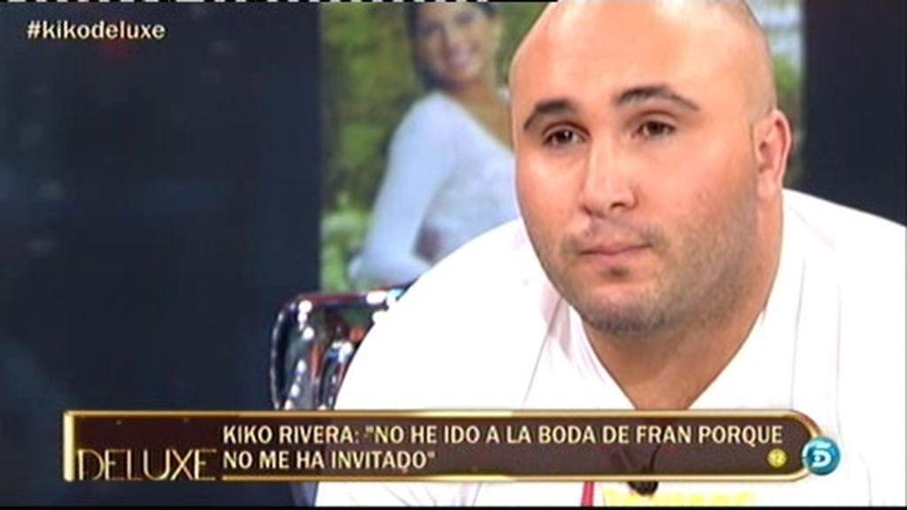 """Kiko Rivera: """"No he ido a la boda de Fran porque no me ha invitado"""""""