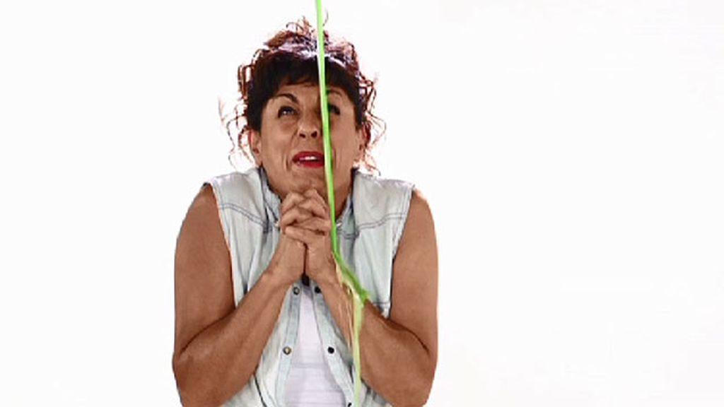 Cristina Medina se pinta de verde