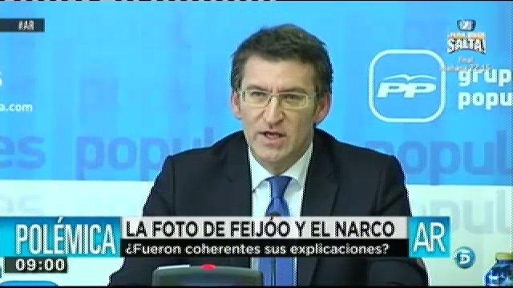 """Núñez Feijóo: """"Son sólo unas fotos"""""""