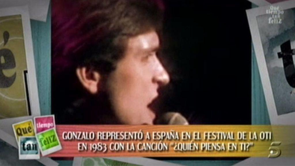 Gonzalo fue a Eurovisión en el 83