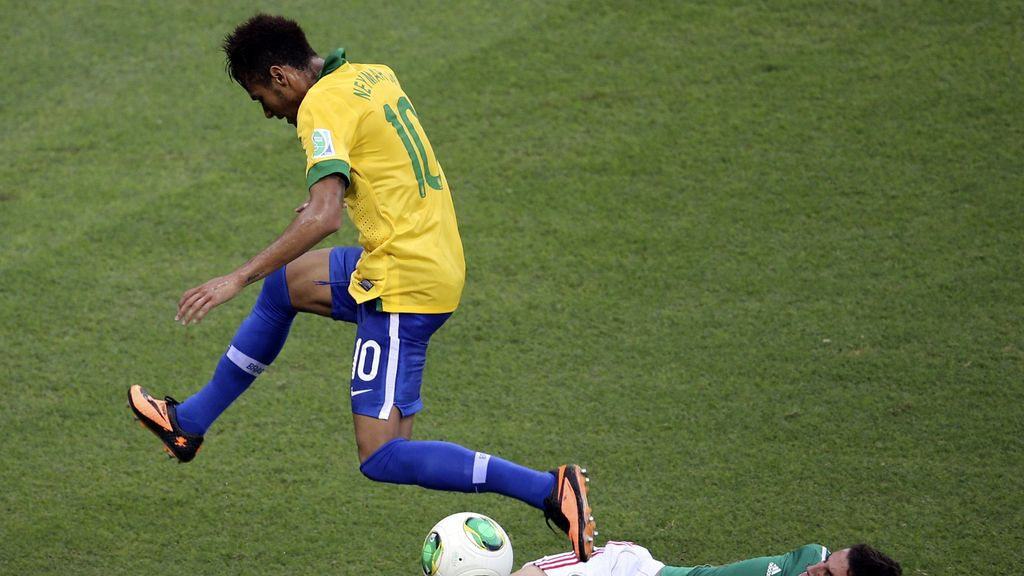 Gol: Brasil 2- 0 México (Min.93)