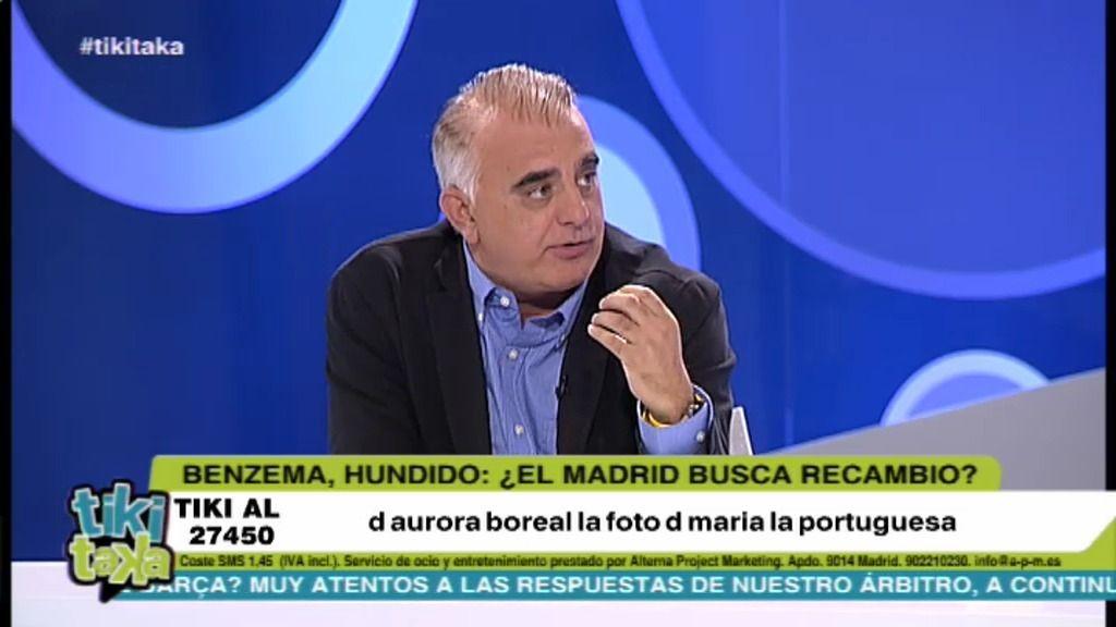 """Pedro P. San Martín: """"El Real Madrid se lo ha jugado todo a la carta de Benzema"""""""