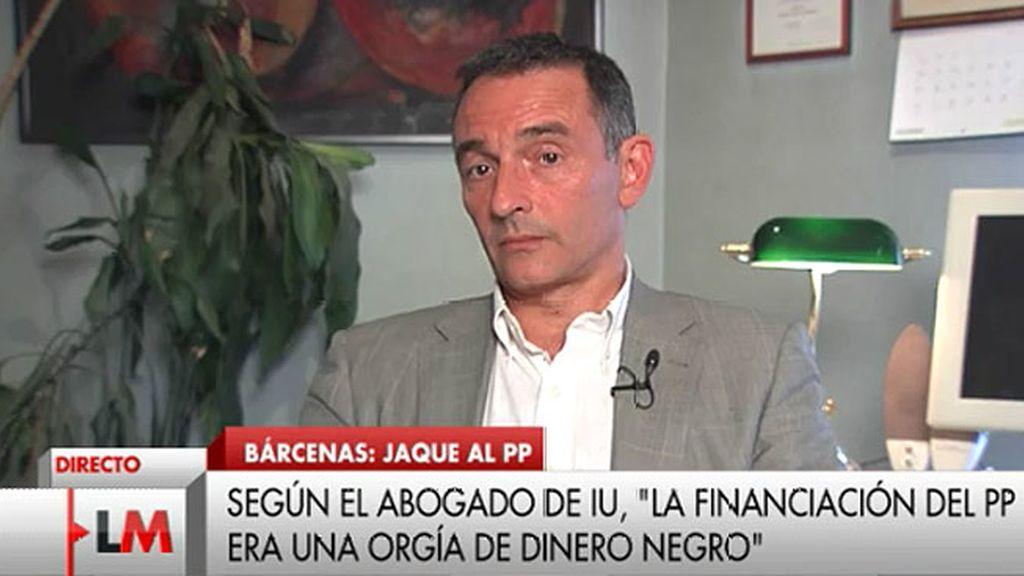 """Enrique Santiago: """"Vamos a ampliar la querella por este delito de encubrimiento"""""""