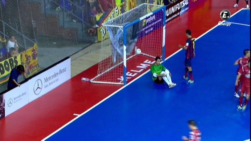 Gol de Bebe (Barcelona 5-4 ElPozo)