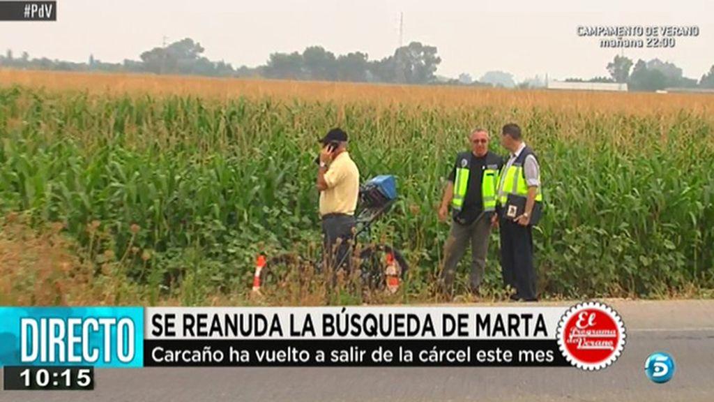 Reanudada la búsqueda de Marta del Castillo