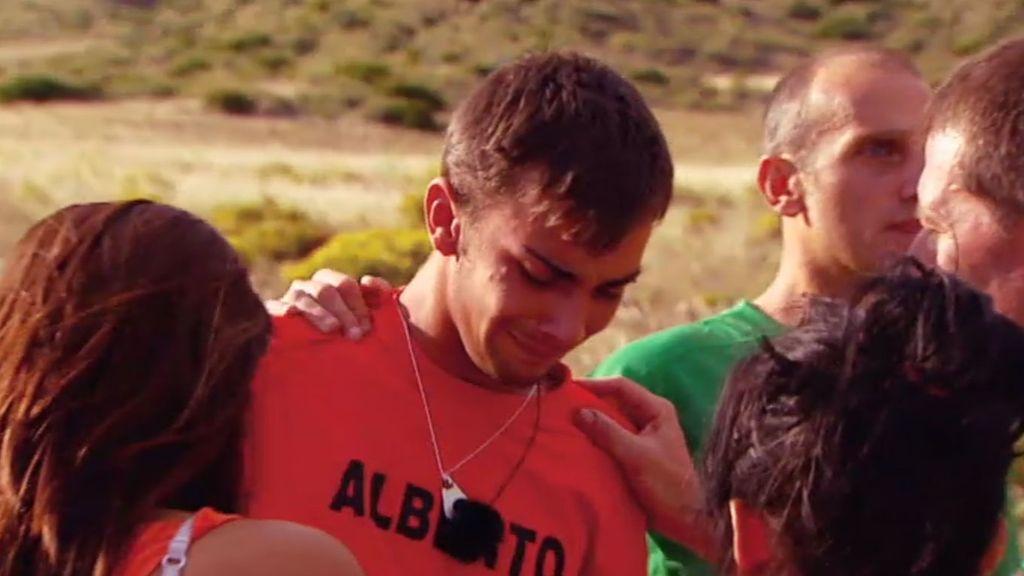 Alberto se derrumba