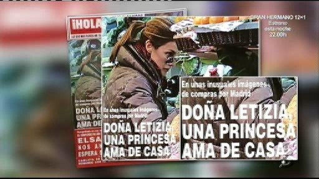 Letizia, la princesa ama de casa