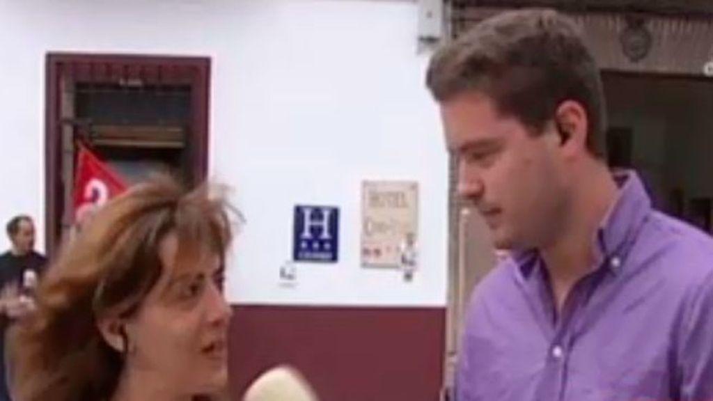 Isabel García fue despedida por negarse a cobrar en negro