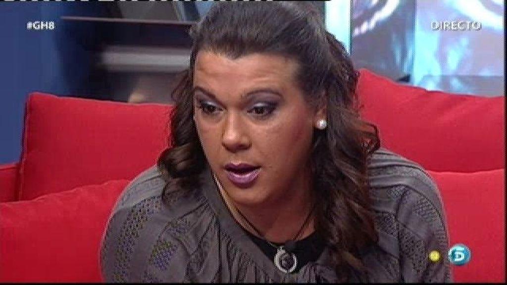 """Rocío, a Desi: """"Eres auténtica"""""""