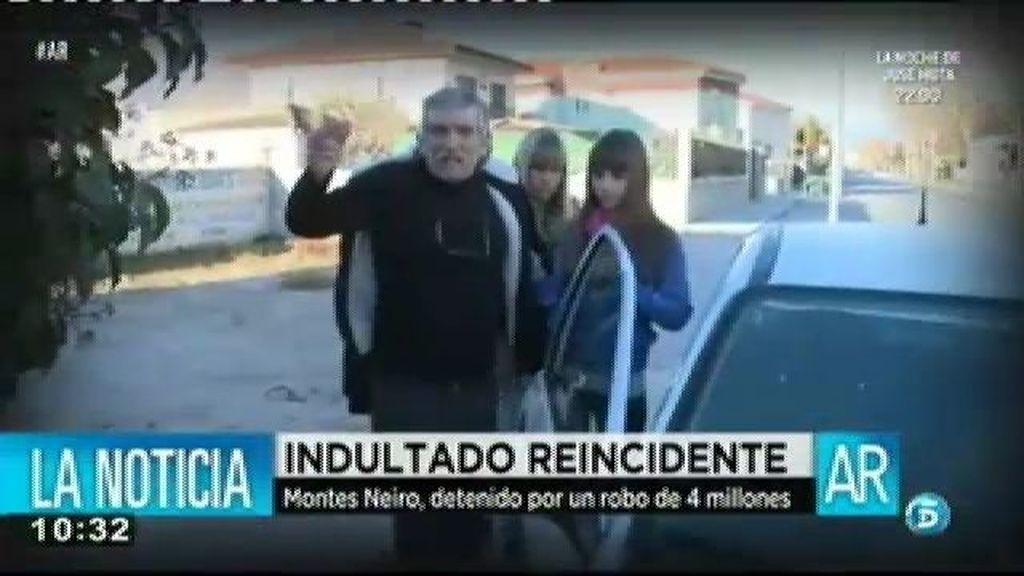 Montes Neiro detenido por el robo de cuatro millones de euros en joyas