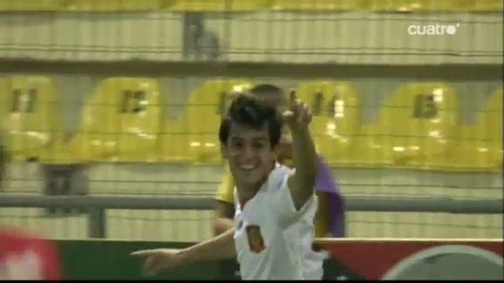 Juanmi firma el 0-2