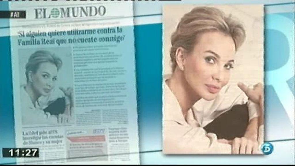Corinna, de mujer hermética a portada de revistas