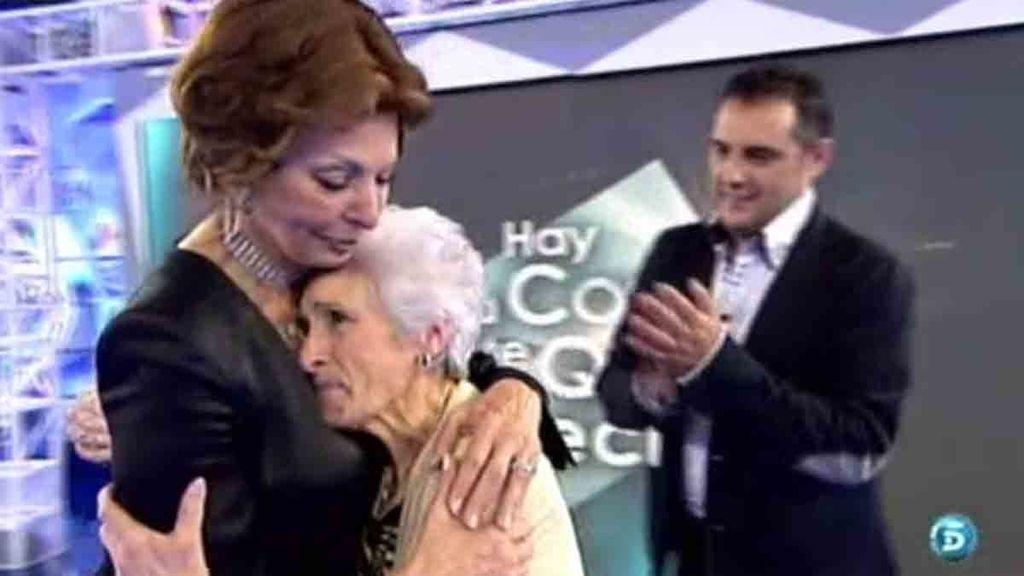 Sophia Loren se reencuentra con Mila, su sastra personal