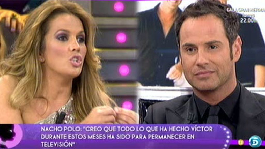 Marta cree que Nacho ha sido muy cruel con Vïctor Sandoval