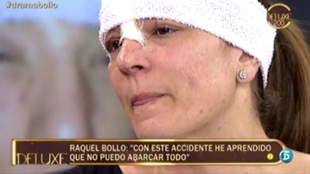 """Raquel Bollo: """"El dolor físico fue horroroso"""""""