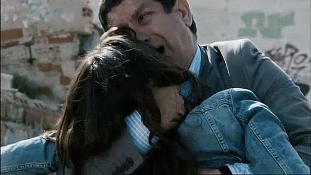 Un padre que ve morir a su hija