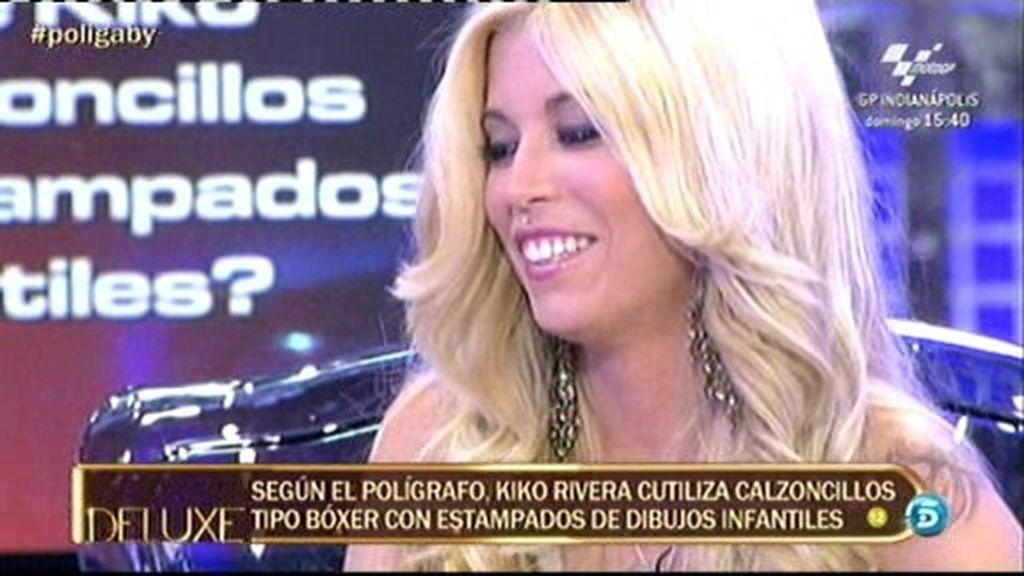 Gaby nunca se ha sentido atraída sexualmente por Kiko Rivera
