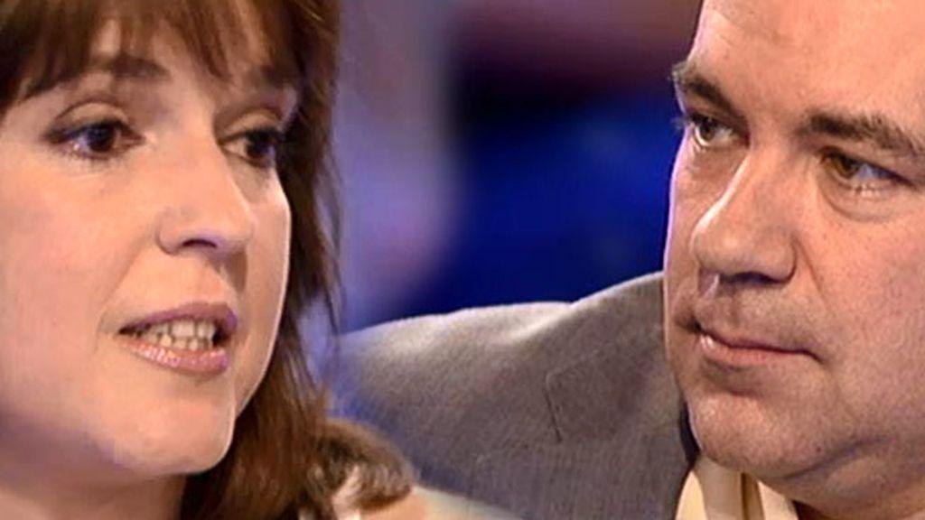 """Cristina, a Juan: """"Tenemos que seguir viviendo por nuestra hija"""""""