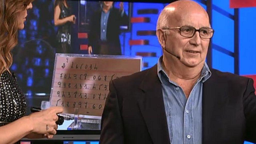 Francisco, 75 años, cálculo matemático