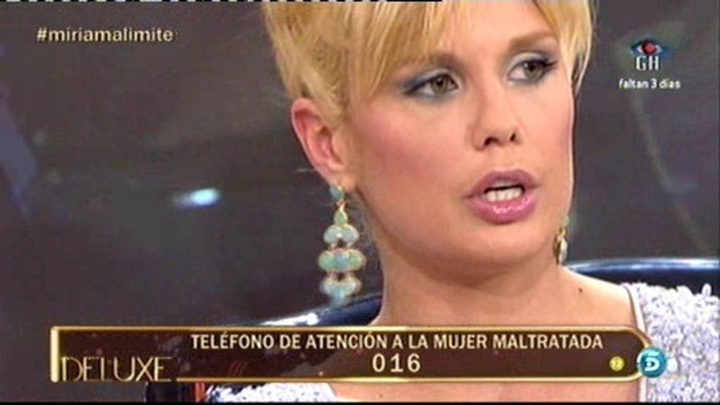 """Miriam: """"Rafa Mora ha intentado grabarme para fingir que tiene una relación conmigo"""""""