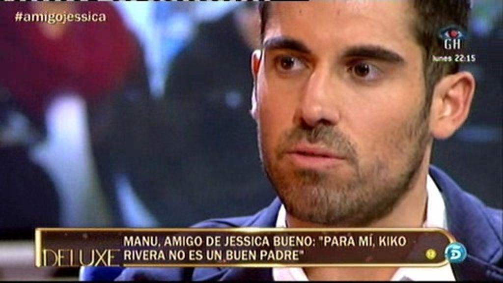 """Manuel Sevilla: """"Jessica me ha pedido que no venga. No le gusta que hablen de su vida"""""""
