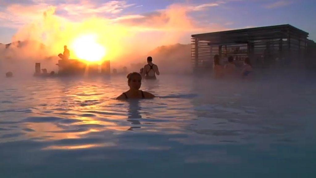 Propiedades curativas del agua islandesa