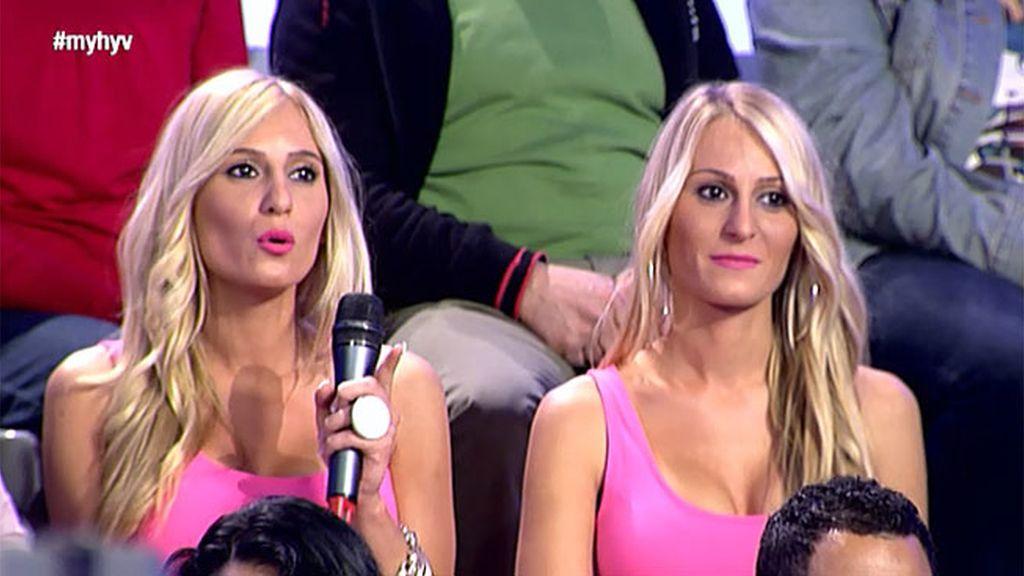 Pamela y Conchi , las gemelas de 'GH'