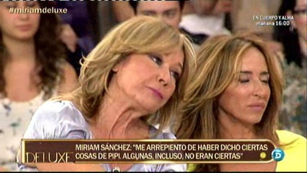 Mila y Miriam utilizan a sus hijas para acusarse en 'El Deluxe'