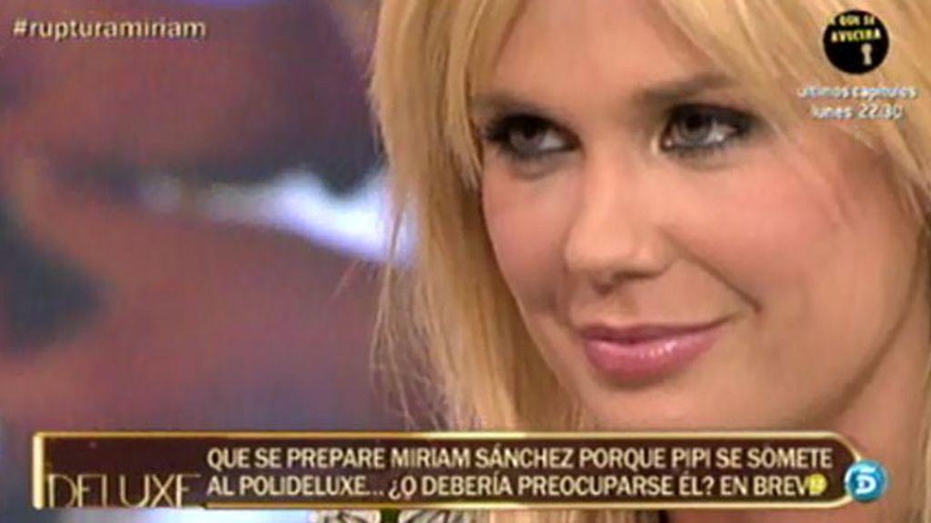 """Miriam: """"Pipi es un cabronazo pero es el padre de mi hija"""""""