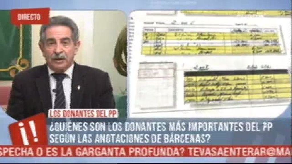 """Miguel Ángel Revilla: """"Sabía que Bárcenas no era trigo limpio"""""""