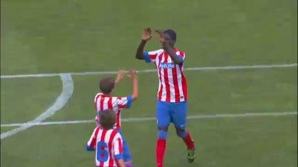 Gol: Atlético de Madrid 1-1 Real Sociedad (min. 14)