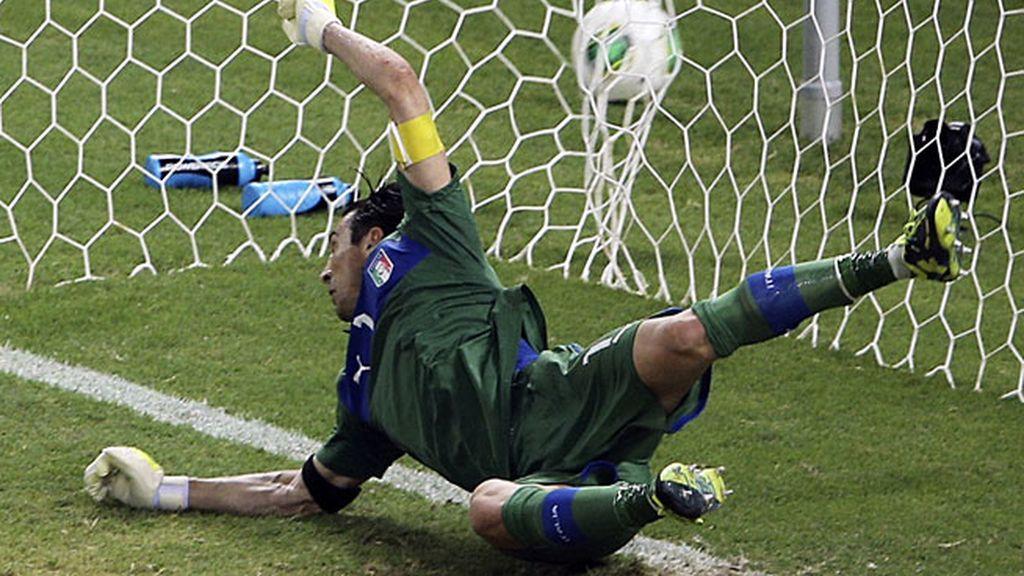 Una tanda de penaltis perfecta