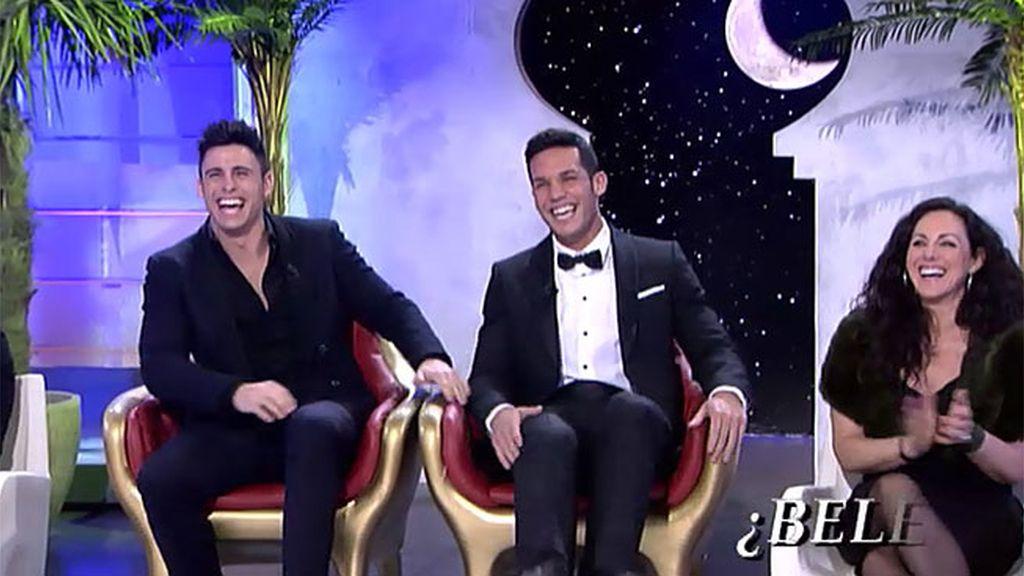 Amadeo Y Luisi Jacuzzi.Santana Se Atreve Con La Danza Del Vientre