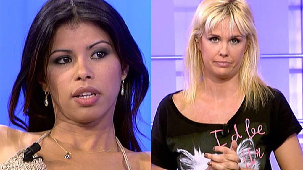 """Miriam: """"Kiko Rivera está acribillando el móvil de Jackie"""""""