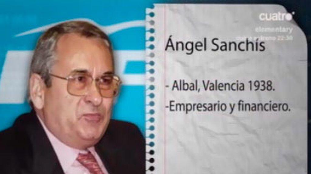 Ángel Sanchís, extesorero del PP, imputado por blanqueo de dinero