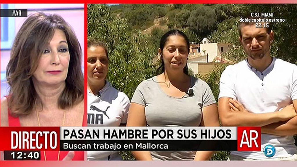 La familia de Vanessa, de diez miembros, sobreviven con 426 euros