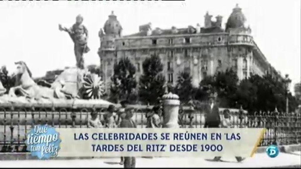 El hotel Ritz inspiró el cuplé 'Las tardes del Ritz'