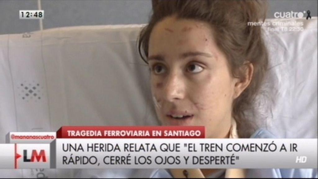 """Una herida, desde el hospital: """"Cerré los ojos y cuando desperté vi a gente chillando"""""""