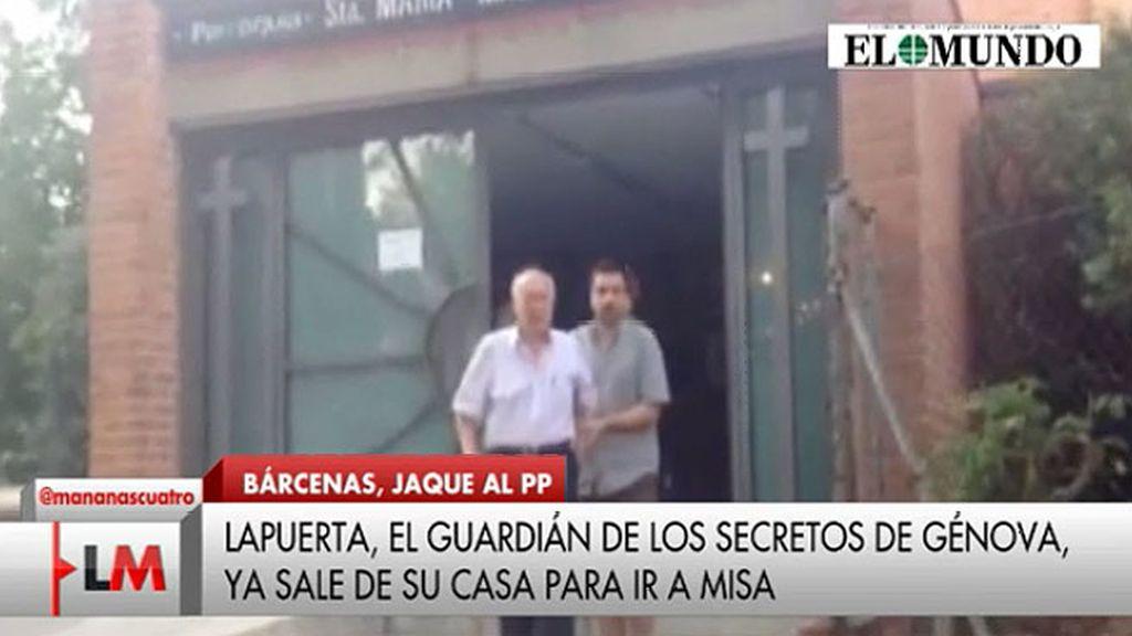 Álvaro Lapuerta no cree que lo sucedido con Bárcenas pueda hacer mucho daño al PP