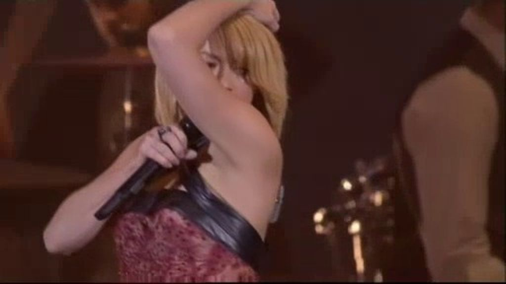Shakira cierra la gala