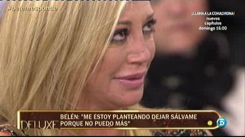 """Belén Esteban: """"He visto a Fran pero no me he acostado con él"""""""