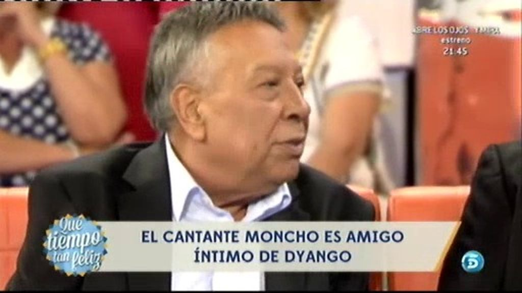 Moncho sorprende a Diango
