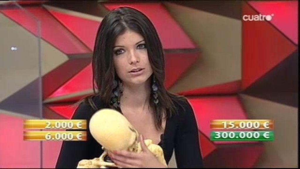 Premio de dos mil euros para Yvonne