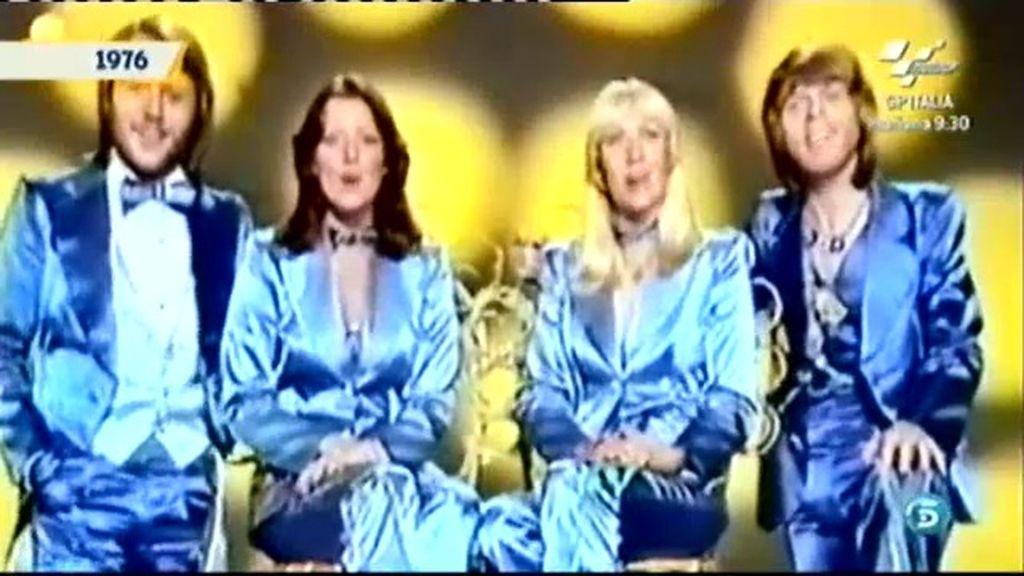 'ABBA' se da a conocer en 1974 en Eurovisión